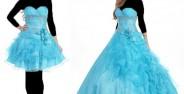 مدل لباس پرنسسی با طرح های کوتاه و بلند