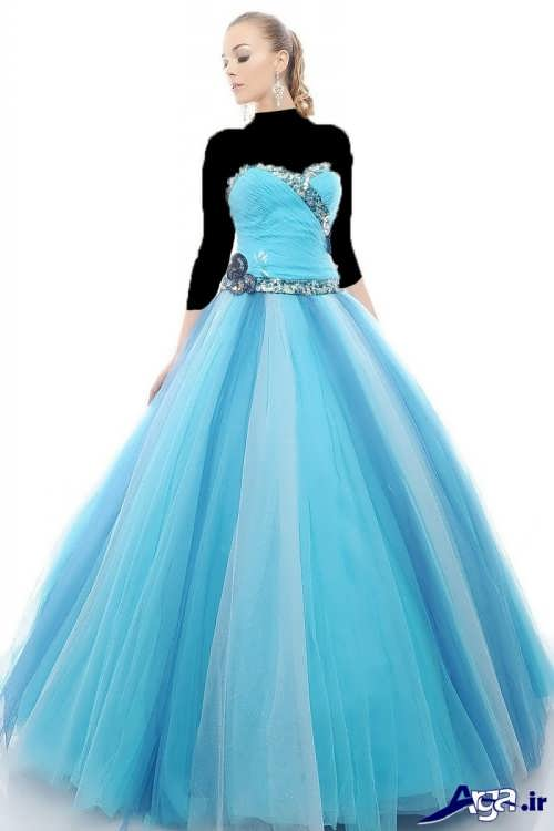 لباس پرنسسی شیک