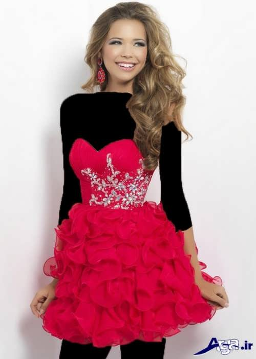لباس دکلته پرنسسی