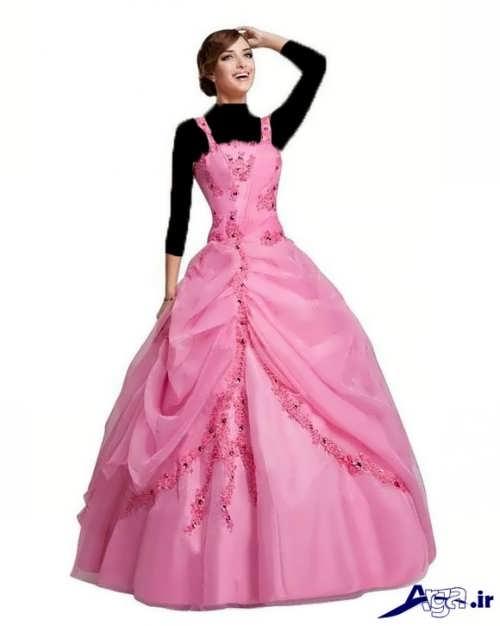 لباس زیبا پرنسسی