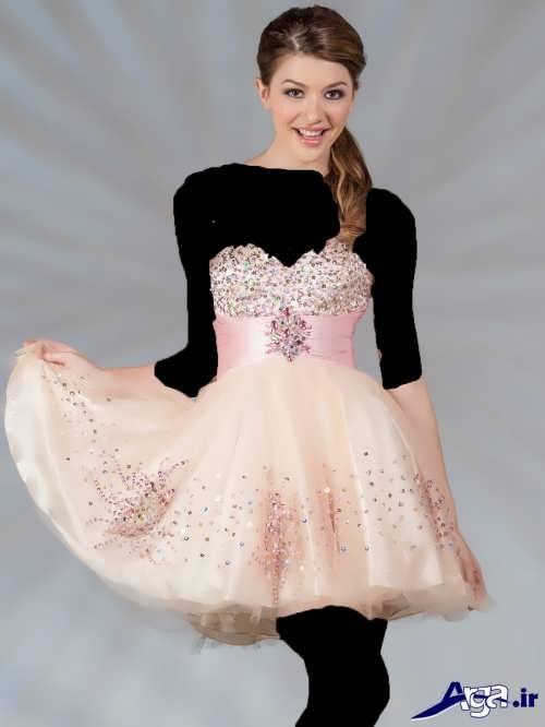 مدل زیبا لباس پرنسسی