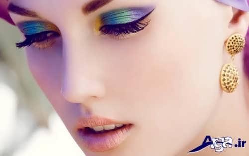 زیباترین نمونه های آرایش چشم عروس