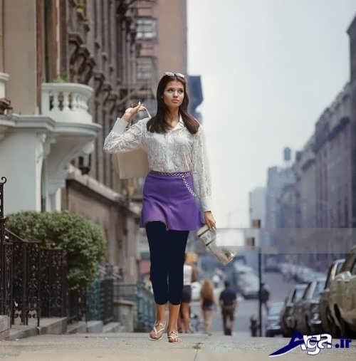 مدل دامن دخترانه با طرح کوتاه
