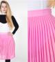 مدل دامن دخترانه با طرح کوتاه و بلند