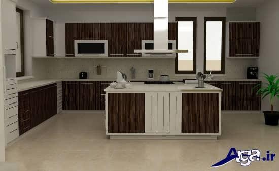 کابینت چوبی مدرن