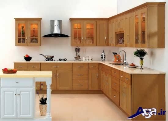 مدل کابینت چوبی مدرن