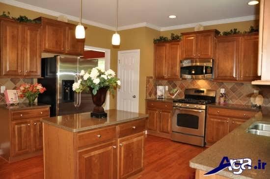 انواع نمونه های کابینت آشپزخانه
