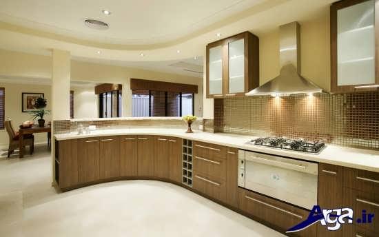کابینت آشپزخانه شیک و زیبا