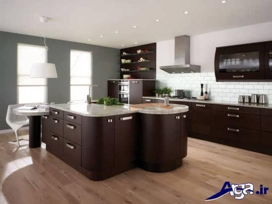 طرح های زیبا و جدید کابینت آشپزخانه