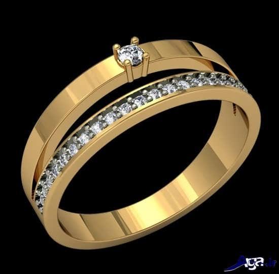 مدل های انگشتر برای نشون عروس