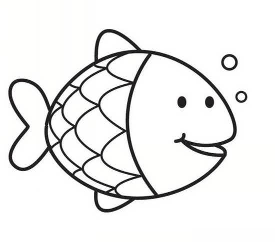 نقاشی ماهی برای کودکان