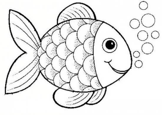 رنگ آمیزی ماهی کودکان
