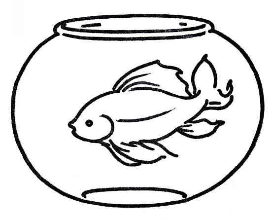 نقاشی ماهی کودکانه