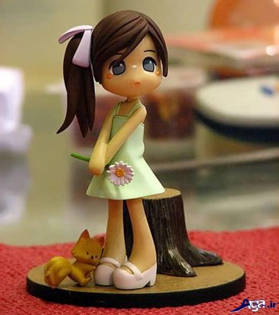 مدل عروسک های خمیری زیبا