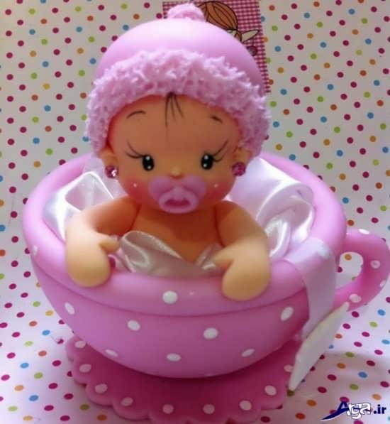 عروسک نوزاد خمیری
