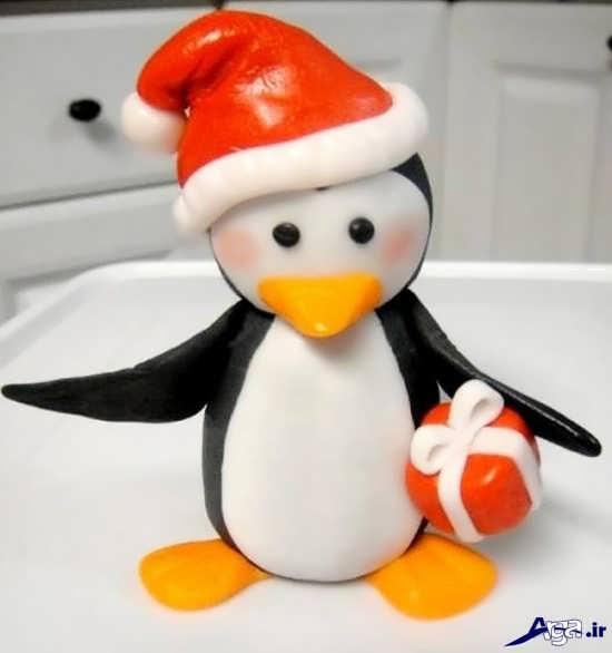 پنگوئن خمیری با مزه