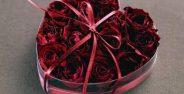 عکس قلب و گل عاشقانه