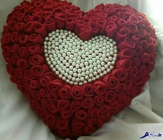 عکس گل و قلب