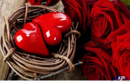 گالری عکس قلب و گل های زیبا