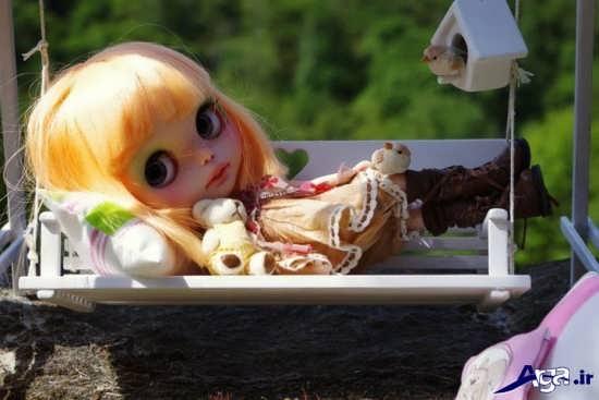 عکس جالب و زیبای عروسکی