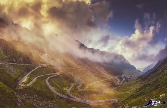 عکس های از زیبا ترین جاده های جهان