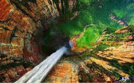 جذاب ترین آبشار های طبیعی