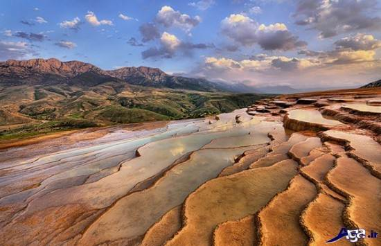 نمای زیبایی از طبیعت ایران و جهان