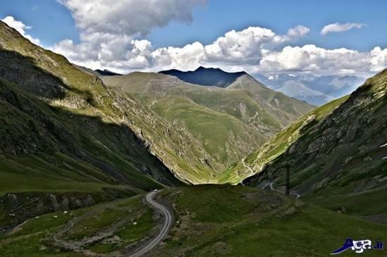 مناظر طبیعی کوهستانی