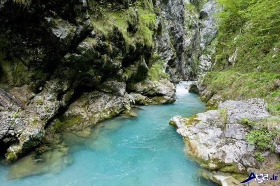 عکس منظره ی طبیعی رود ها