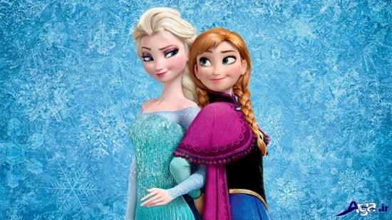 عکس السا و آنا در کنار هم