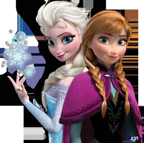 عکس زیبا از السا و آنا