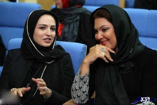 عکس گلاره عباسی در مهمانی افطار