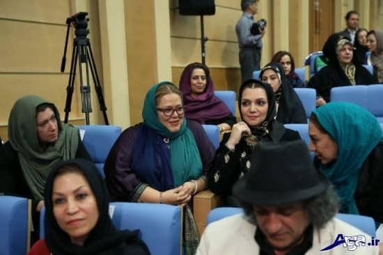 عکس بهاره رهنما در افطاری رئیس جمهور