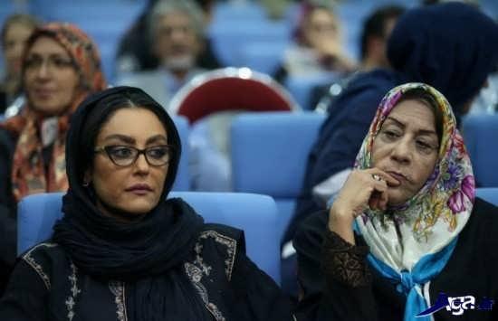 عکس شقایق فراهانی در افطاری رئیس جمهور