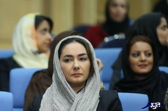 عکس هانیه توسلی در افطاری رئیس جمهور