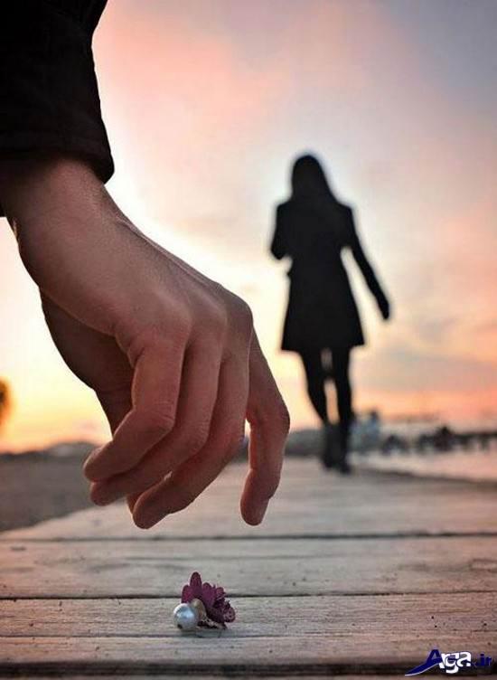عکس تنهایی و دلتنگی