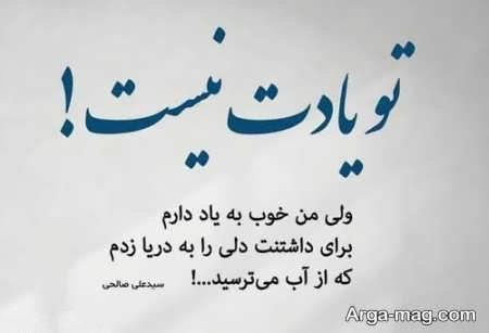 اشعار علی صالحی