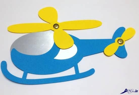 کاردستی هواپیما برای کودکان