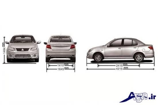 بررسی مشخصات فنی خودرو ساینا