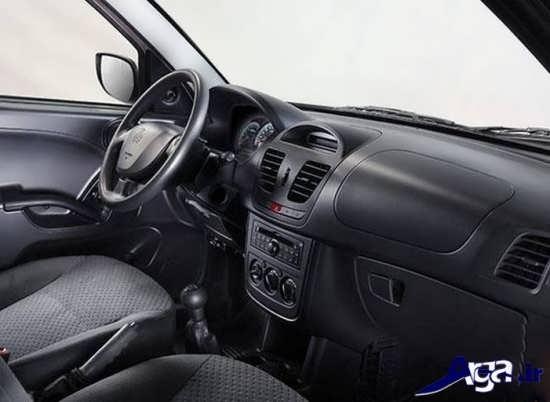 نمای داخلی خودرو ساینا