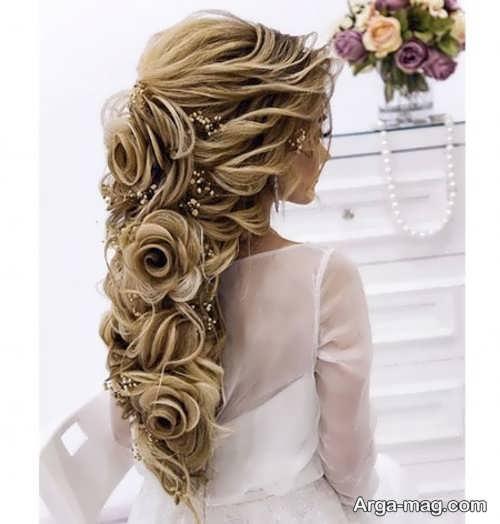تصاویری از مدل مو نیمه باز