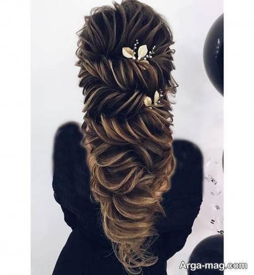 مدل مو نیمه باز برای خانوم ها