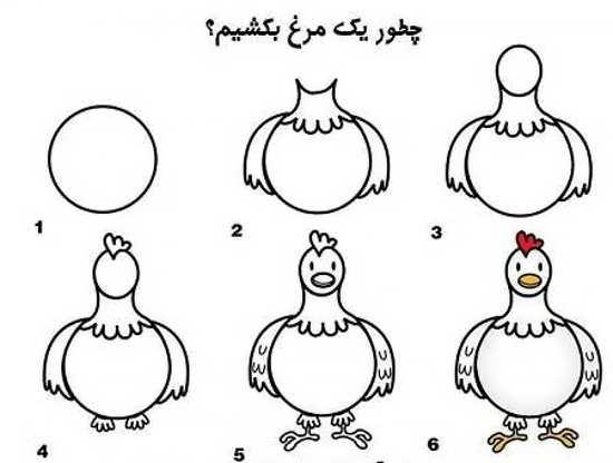 آموزش نقاشی ساده به کودکان