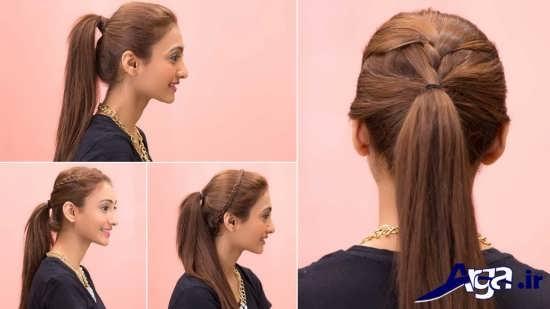 مدل موی ساده دخترانه برای مجالس
