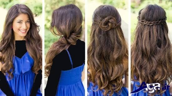 مدل موی ساده دخترانه زیبا