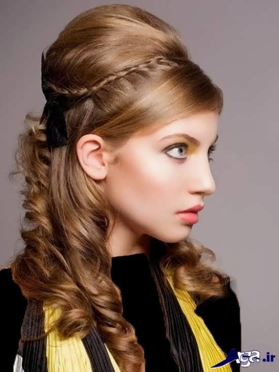 مدل های ساده موی دخترانه