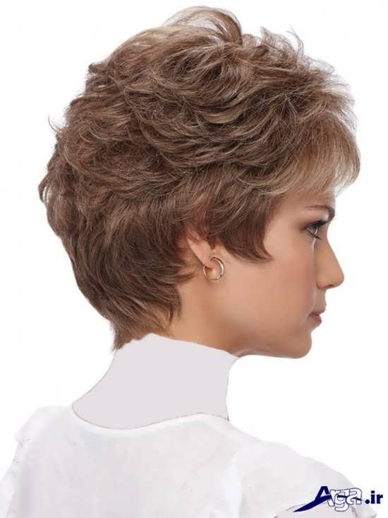 مدل موی ساده کوتاه