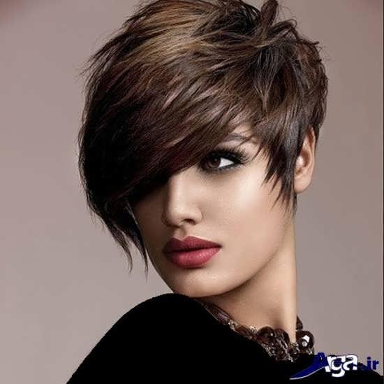 مدل موی ساده دخترانه کوتاه
