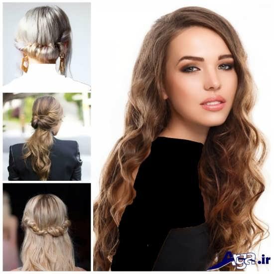 مدل موی فر ساده