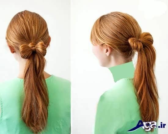 مدل های موی ساده